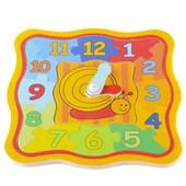 Обучающие часы-пазлы «Улитка», Lelin Артикул: 22-049