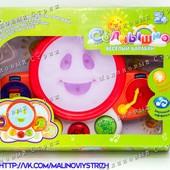 Веселый барабан, звуки животных, свет, мелодии, s+s Toys EG80019R