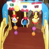 Развивщая игрушка для младенцев Паравозик.