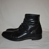 кожаные ботинки Vero Cuoio, р. 45