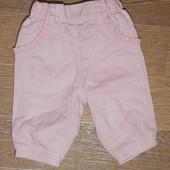 Штанишки на подкладке George для новорожденных (50-56 см.).