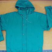 Зимняя теплая фирменная курточка для мужчины,размер М-ХL.