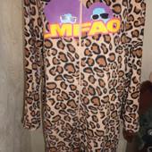 Пижама флисовая,размер М