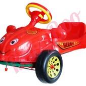Педальная машина Happy Herby