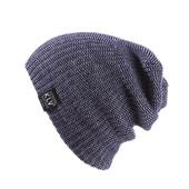 Демисезонная меланжевая шапка