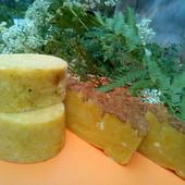 Детское мыло 100 % натуральное с нуля ручная работа с маслом бабассу и ши 110 грамм