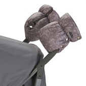 Подвійна універсальна муфта для колясок. Доречі меланж