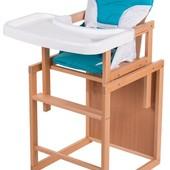 Детский стульчик-трансформер с пластиковой столешницей