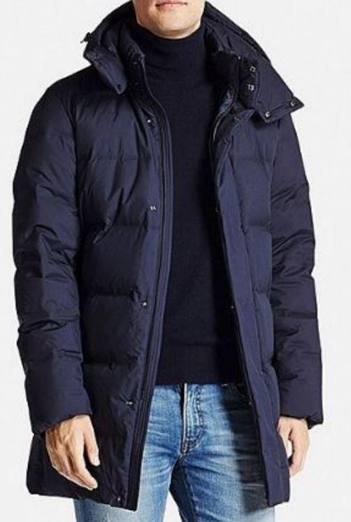 d9031d4905279 Пуховик зимний uniqlo (юникло) мужской размер:xl японское качество фото №1