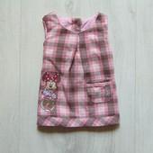 Стильный теплый сарафан для маленькой принцессы. Disney. Размер 0-1 месяц. Состояние: новой вещи
