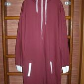 Пижама хлопковая с начесом, мужская, размер XXL рост до 190 см, новая без бирки
