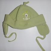 шапка флис на ог 50-52 см