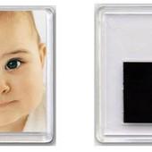 магнит акриловый (в пластике) с Вашим фото