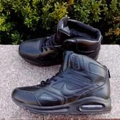 Зимние мужские кроссовки на меху фирмы Nike Air Max размер 41-46