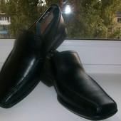 Туфли мужские натуральная кожа Clarks р.42