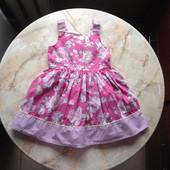 Нарядное платье фирмы Young Dimension на возраст 2-3 года