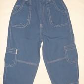 штаны лёгкие котоновые на 1-1.5 года