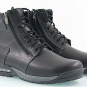 зимние мужские ботинки модель:В-з 121