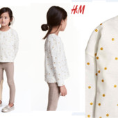 Футболка с длинным рукавом для девочки H&M