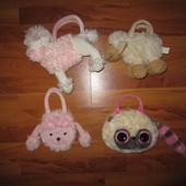 Детские меховые сумочки