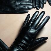 Новые женские кожаные перчатки . XS (6.5). S (7.0).M(7.5). L (8.0)