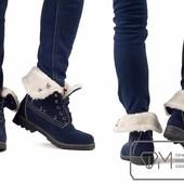 Модель № : W3484 Ботинки женские на искусственном меху