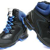 Мужские зимние ботинки Польша, размеры 37-42