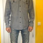 680 Джинсовая рубашка с капюшоном Regular М