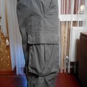 Фирменные шорты хлопок 6 карманов Пот-46 см.