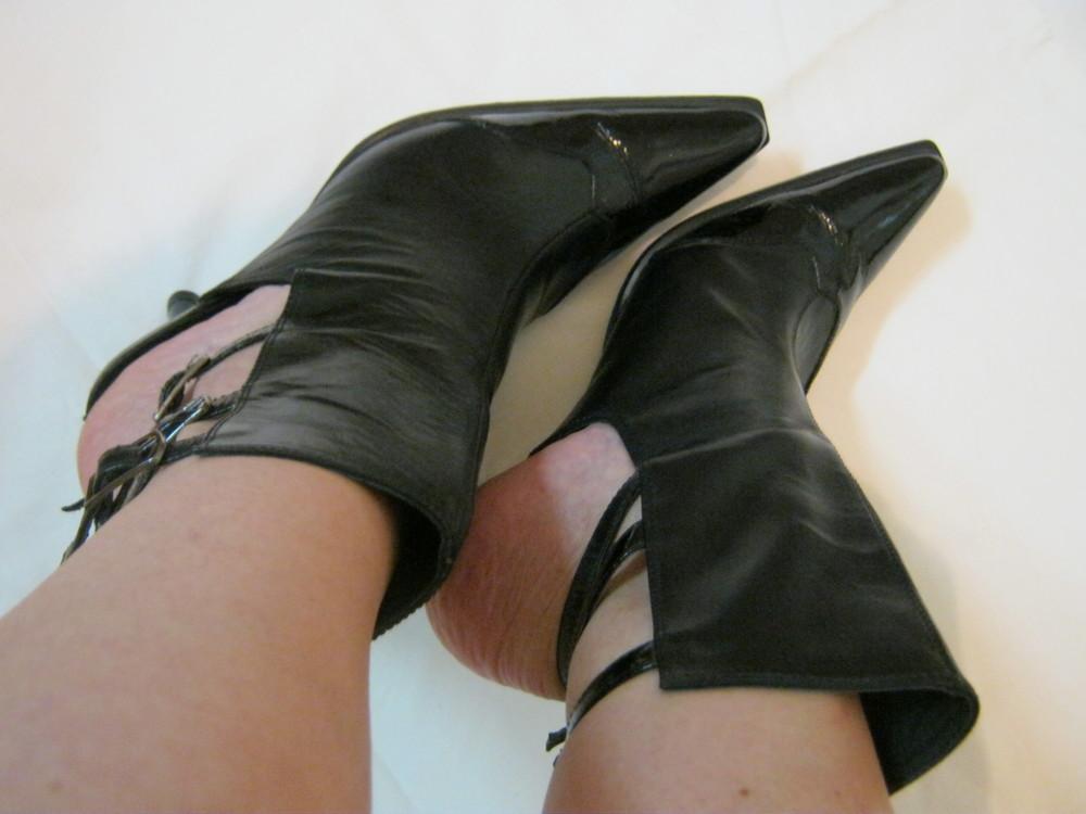 Италия, фирма Bosch, натур. кожа ботинки/туфли/босоножки фото №1