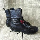 Wolky р.40 ботинки підвищений комфорт шкіряні