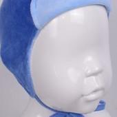 Распродажа - Шапка велюровая размер 40-42 от Татошка голубая