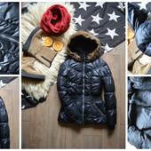 Стильная зимняя куртка-пуховик, р-р ХС-С