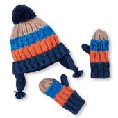 Комплект шапка и варежки Children´s Place  микрофлис. 2-3 года. США.