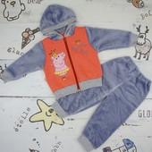 Зимний костюм р.80-86 Пеппа девочке