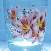 08с1414 Набор стаканов Монарх Лилия 250мл(6 штук)