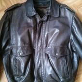 Куртка из нат. кожи на меховой подстежке Италия