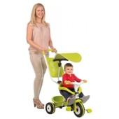 Детский 3-х колесный металлический велосипед с козырьком Smoby