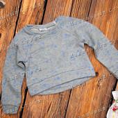 Кроп-Свитер, свитшот свитер на девочку, 116 128 140 размер, укороченный свитер, кроп топ