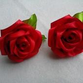 Заколки, резинки рози. Пара 40 грн