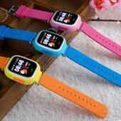 Детские умные часы Q90 с GPS и сенсорным экраном