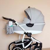 Детская коляска универсальная 2в1 Bebetto Silvia (Серый)