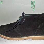 20 Замшевые ботиночки United Colors of Benetton