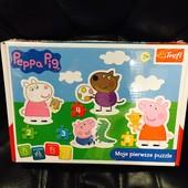 Пазлы для малышей свинка Пеппа trefl