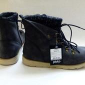 Новые! Стильные молодёжные демисезонные ботинки ТМ Plato (41 размер)