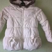Теплая куртка M&S 110р