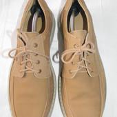 Мужские кожаные мокасины р.44 дл.ст 28,3 см