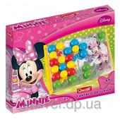 Набор - для занятий мозаикой Minnie (большие фишки (48 шт.) + доска 27х21)