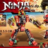 Конструктор Ninjago 339дет., в кор. 38 26 5,5см Арт: 68004