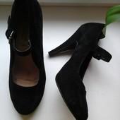 Туфли женские натуральная замша New Look p.39